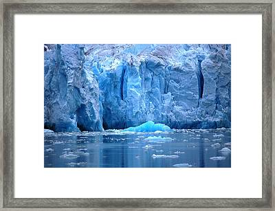 Ice Wall Framed Print by Helen Carson