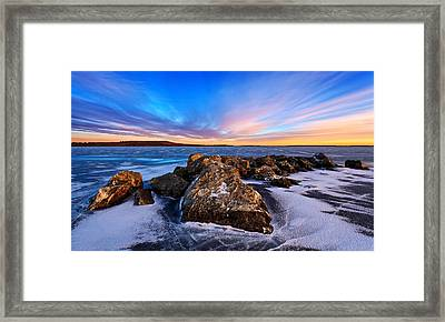 Icebound 2 Framed Print by Bill Caldwell -        ABeautifulSky Photography