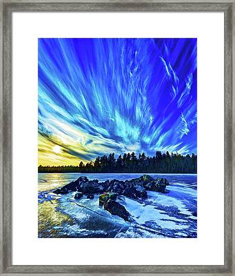 Icebound 3 Framed Print by ABeautifulSky Photography