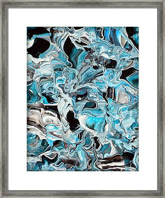 Icelandia Framed Print by Holly Anderson