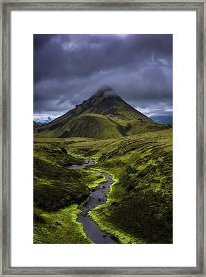 Icelandic Highlands Framed Print by Tor-Ivar Naess