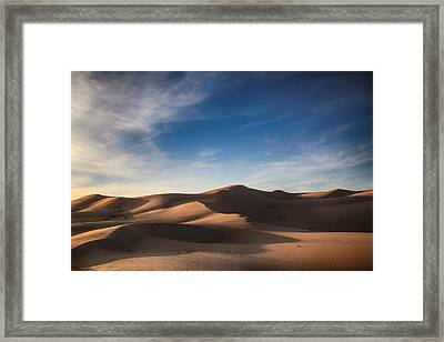 I'd Walk A Thousand Miles Framed Print by Laurie Search