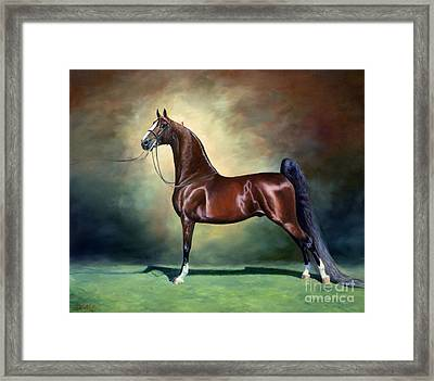 Ideal Proportions Framed Print by Jeanne Newton Schoborg