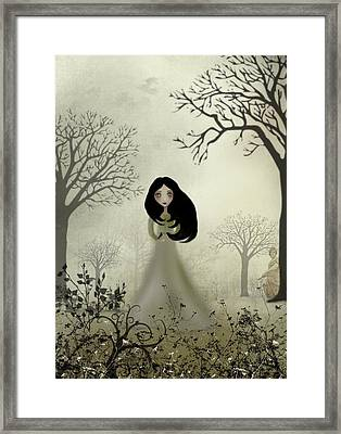 Ides Of March Framed Print by Charlene Zatloukal