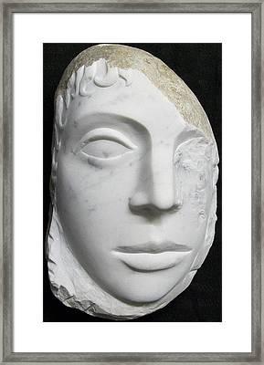 Idol Of Cydonia Framed Print by Marino Ceccarelli Sculptor