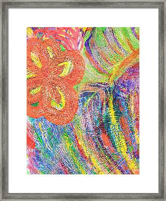 If Colors Were Sounds  Framed Print by Anne-Elizabeth Whiteway