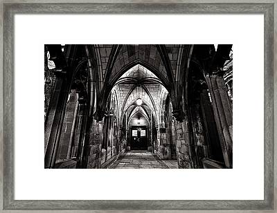 If These Walls Could Talk Framed Print by CJ Schmit