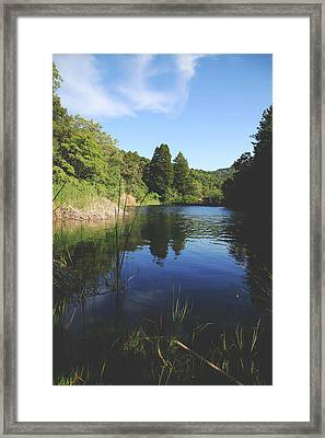 If You Let Yourself Believe Framed Print by Laurie Search