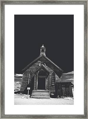 If You Should Pass Through These Doors Framed Print by Laurie Search