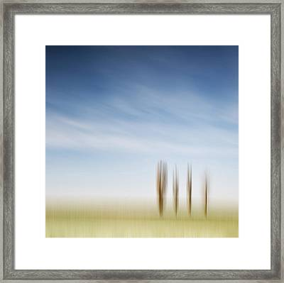 ____iiii_ Framed Print by Heiko Gerlicher