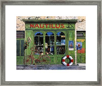 Il Nautilus Framed Print by Guido Borelli