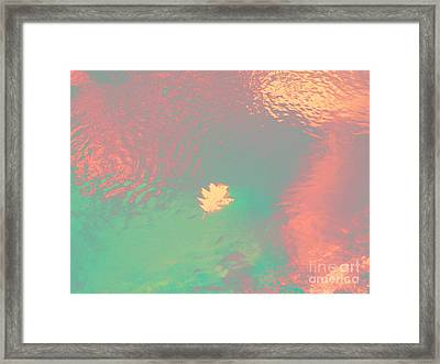 I'll Be There For You Framed Print by Sybil Staples
