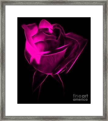 I'll Be With You Framed Print by Krissy Katsimbras