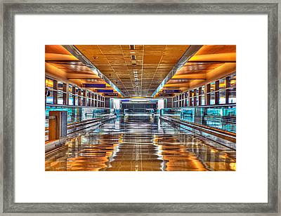 I'll Get There Framed Print by Dado Molina