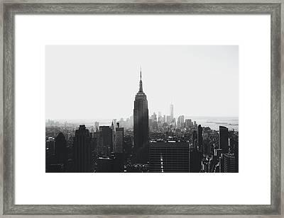 I'll Take Manhattan  Framed Print by J Montrice