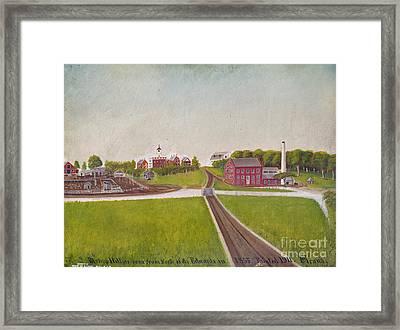 Illinois: Bishop Hill Framed Print by Granger