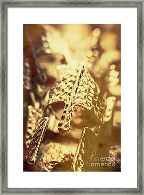 Illuminating The Dark Ages Framed Print by Jorgo Photography - Wall Art Gallery