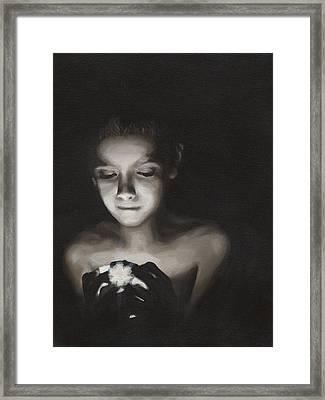 Illumination Framed Print by Katherine Huck Fernie Howard