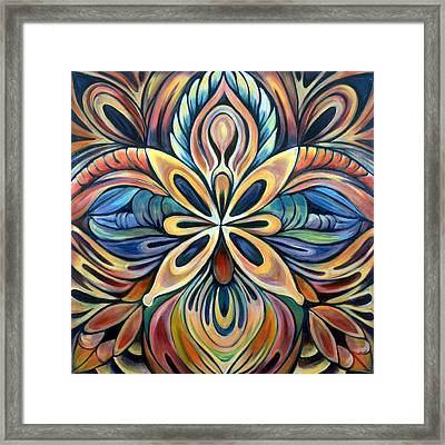 Illumination Framed Print by Shadia Zayed