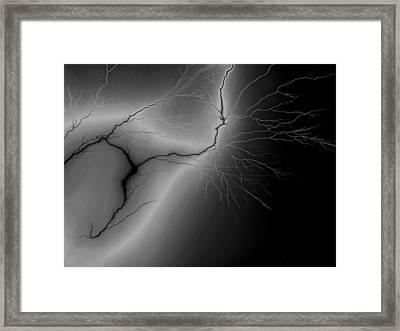 Illumination Framed Print by Tom Druin