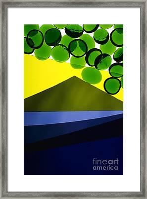 Illuminations 82 Framed Print by Barbara Chase