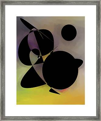 illusion Digital Creation  Framed Print by Don  Wright