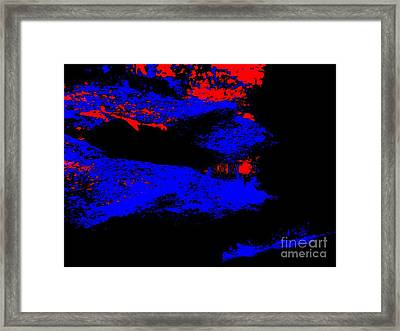 Illusional Abstract Framed Print by Tim Townsend