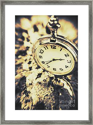 Illusive Time Framed Print by Jorgo Photography - Wall Art Gallery