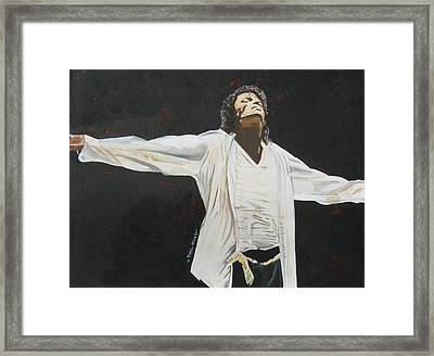 Im Not Alone Framed Print by Phil  King