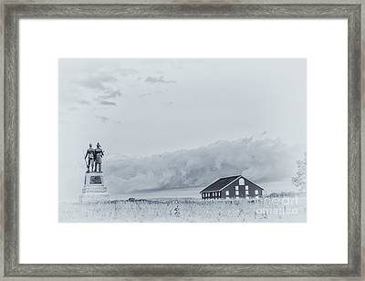Images Of The Gettysburg 73rd New York Framed Print by Randy Steele
