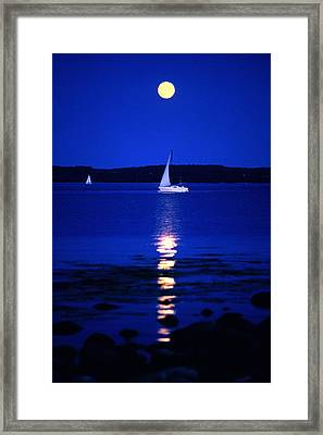 Imageworks Photographic Sailboat Out On Framed Print by Imageworks Photographic