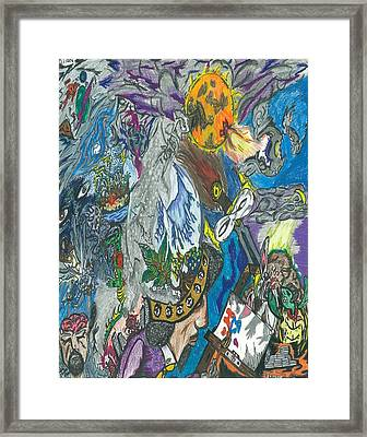 Imagination Framed Print by Justin Chase