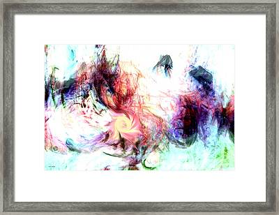 Imagination Framed Print by Linda Sannuti