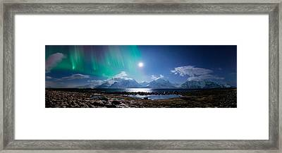 Imagine Auroras Framed Print by Tor-Ivar Naess