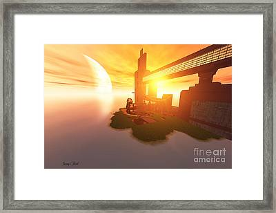Imagine Framed Print by Corey Ford