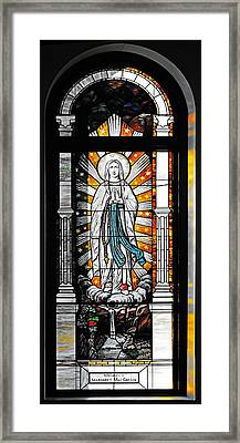 Immaculate Conception San Diego Framed Print by Christine Till