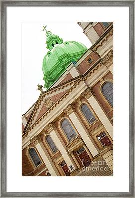 Immaculate Heart Of Mary Church Polish Hill Pittsburgh Pennsylvania Framed Print by Amy Cicconi
