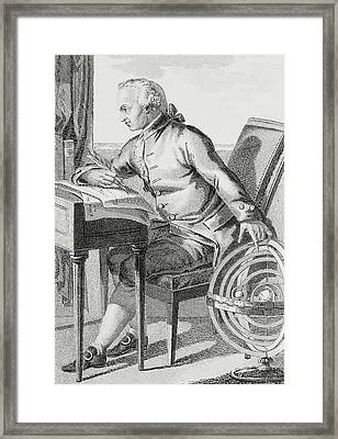 Immanuel Kant Framed Print by German School