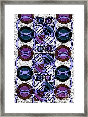 Impression Framed Print by Norma Appleton