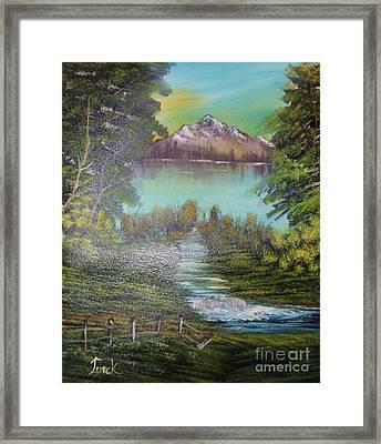 Impressions In Oil - 11 Framed Print by Bill Turck