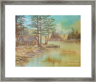 Impressions In Oil - 18 Framed Print by Bill Turck