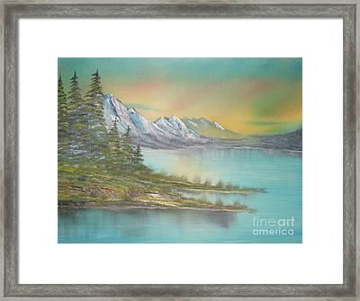 Impressions In Oil - 4 Framed Print by Bill Turck