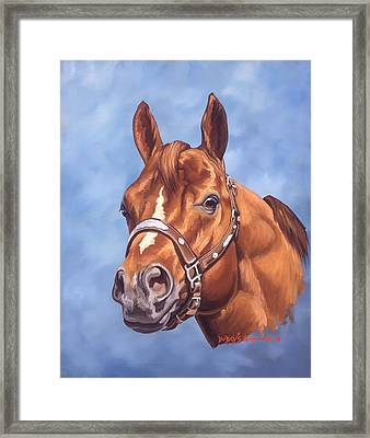 Impressive Framed Print by Howard Dubois