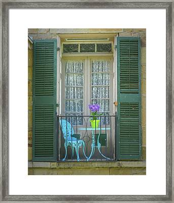 In Angelica Framed Print by Guy Whiteley