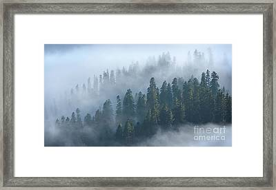 In Between The Clouds Framed Print by Svetlana Sewell