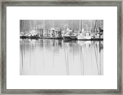 In Dock Framed Print by Karol Livote