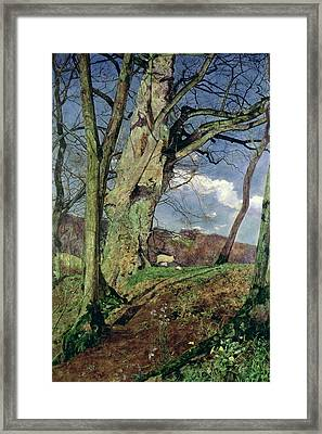 In Early Spring Framed Print by John William Inchbold