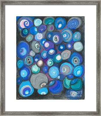 In Front Of The 8 Ball Framed Print by Ania M Milo