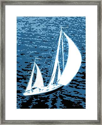 In My Dreams Framed Print by Angela Treat Lyon