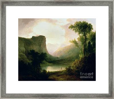In Nature's Wonderland Framed Print by Thomas Doughty